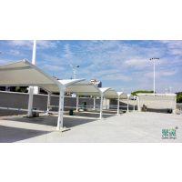 膜结构车棚质轻-膜结构车棚柔性好-膜结构车棚价格因素