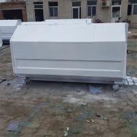 献县鑫建垃圾车配套三方垃圾桶 厂家批发