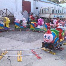 游乐场观光小火车无轨道游乐设备
