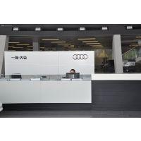 一汽四环奥迪Audi展厅炭灰色凹凸铝单板安装方法 【自攻螺丝】
