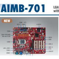 研华工控机主板台式组610母板AIMB-701VG