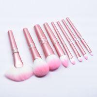 10支化妆刷套装 美妆工具 全铝柄套装 厂家直销 普莉丝特化妆刷