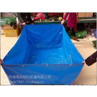农家乐鱼池-捕鱼达人专用池-防水加厚布