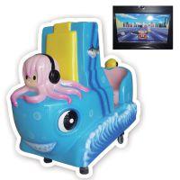 章鱼公主 汽车 玻璃钢 喜洋洋 摇摆机 自动 大成动漫科技