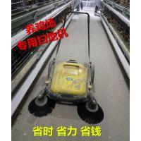 养鸡舍如何快速清理 合美手推式扫地机