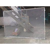 现货直销菱形拉网铝单板 网格式铝天花