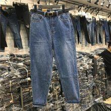 云南普洱哪里有工厂尾货牛仔裤1元批发韩版牛仔裤亏本清货
