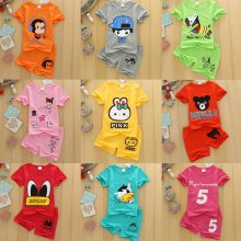 甩卖地摊货源在哪里进货厂家直销低价几元韩版新款童套装