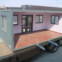 厂家低价出售20平米拼组带保温集装箱房屋