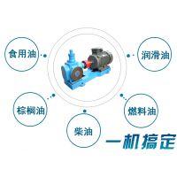 棕榈油卸车泵/大豆油输送泵远东YCB-40/0.6圆弧齿轮泵