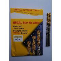 专业批发进口 REGAL 高钴镀钛直柄钻 加工不锈钢等难削材料