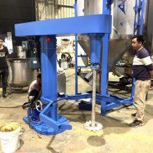 1500L水性涂料分散机 汽车漆分散机 防爆油漆搅拌机 大型分散机图片