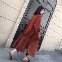 厂家直销2018新款韩版风呢子大衣中长款女装外套批发便宜毛呢大衣