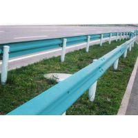 供应湖北农村公路安保工程B级喷塑护栏