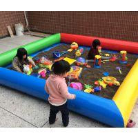 沙滩池设施图样以及价格 广场很多孩子集体玩具沙滩池 广场收费10元的钓鱼池生意