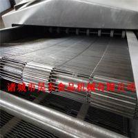 昊东客户推荐锅包肉油炸机 高温油炸锅包肉机器