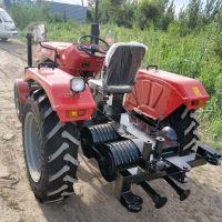 拖拉机头绞磨机5吨四轮机动绞磨28型拖拉机牵引绞磨洪鑫