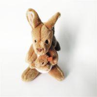 可爱动物填充毛绒玩具袋鼠公仔厂家直销可定制