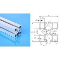 启域铝型材框架加工厂直销4040GA国标铝型材及配件