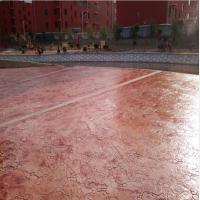 桓石 彩色混凝土压印水泥地坪,湖北孝感,武汉艺术印花地坪
