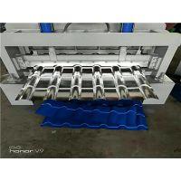 浩鑫机械800琉璃瓦压瓦机 全自动二合一琉璃瓦设备