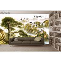 3D大型无缝墙纸壁布墙画书房图书馆客厅沙发电视背景墙装饰壁画
