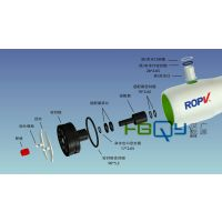 乐普ROPV玻璃钢膜壳端头 端板配件 止推环适配器 乐普密封圈