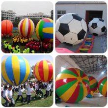 足球式趣味运动会比赛道具,运转乾坤充气大足球体育拓展项目器材