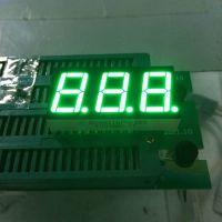 同灿LED三位8字数码管0.56英寸翠绿色数码管共阳极/共阴极12PIN脚