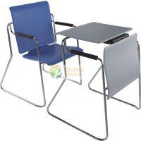 多功能桌椅 组合弓形会议椅 学生培训椅 塑钢会议椅 展会接待椅 阅览桌椅