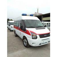 福特新全顺短轴国V救护车|监护型救护车|乡镇卫生院私立医院专用