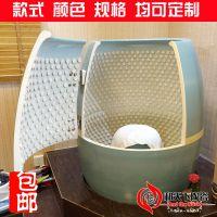 景德镇和天下陶瓷 蒸缸 美容院活瓷能量养生缸 陶瓷汗蒸瓮 活磁熏蒸缸