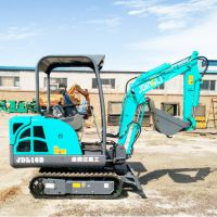 土石方工程用小型挖掘机型号 金鼎立新款挖掘机制造厂家
