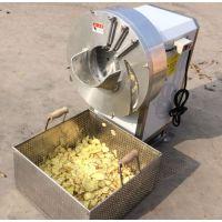 诸城神州机械不锈钢电机大姜切片机 切丁切丝 全自动设备