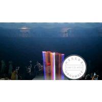 室内大型启动签约仪式暖场特效激光秀飞鹰秀绕场一周定制文字LOGO