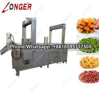 Continuous Peanut Frying Machine|Potato Chips Fryer Machine Supplier in China