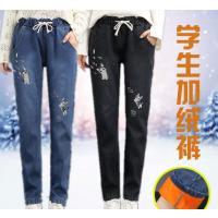 女式牛仔裤厂家货源一手女装货源供应直销便宜牛仔裤 几元牛仔裤清仓甩货
