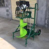 安徽手提式打眼机 启航汽油动力挖坑机 手推式植树打窝机