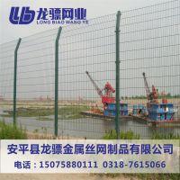 高速公路护栏网 双边丝围栏网 框架围栏网