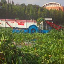 全自动水浮莲打捞船报价 环保割草船特点