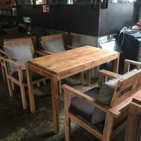 漫咖啡全皮沙发MDJ-ZTY17复古沙发单人美式座椅咖啡厅西餐厅沙发