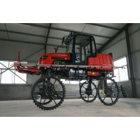 科博专供农场:打药的机器、小麦打药机、四轮驱动自走式喷药机厂家