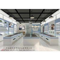 台州眼镜店装修设计眼镜展柜设计制作