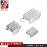 东莞厂家定制铝型材电子散热器铝型材高密齿散热片拉丝阳极氧化结构坚实