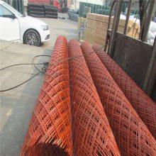 菱形铁网 粮仓防护网 多层建筑脚踏钢板网