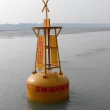 海洋局部警示航标 威海游艇码头系泊浮标 柏泰水质监测浮标