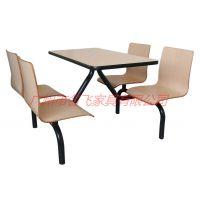 安徽单位员工食堂餐桌椅简约现代政府国企员工餐桌椅