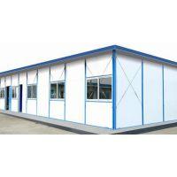 河北承德生产车间防风k型彩钢活动房祈虹彩钢板