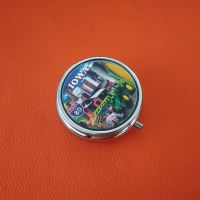供应美国拉斯维加斯旅游品 广告礼品药盒 金属药盒子 铁盒
