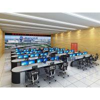 乐昌市机场指挥中心调度席 接警席位尺寸 钢制控制台价格